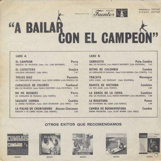 V.A. / A Bailar Con El Campeon back