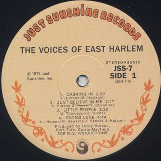 Voices Of East Harlem / S.T. label