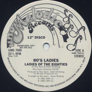 80's Ladies / Ladies Of The Eighties