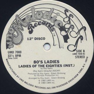 80's Ladies / Ladies Of The Eighties back