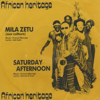 African Heritage / Mila Zetu(Our Culture) c/w Saturday Afternoon
