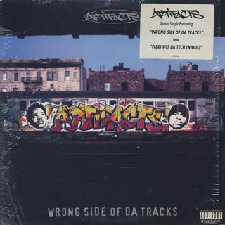 Artifacts / Wrong Side Of Da Tracks front
