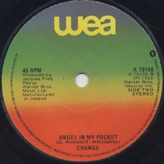 Change / Searching c/w Angel In My Pocket back