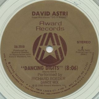 David Astri / Dancing Digits label