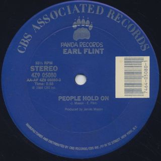 Earl Flint / People Hold On front