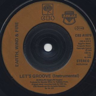 Earth, Wind & Fire / Let's Groove back