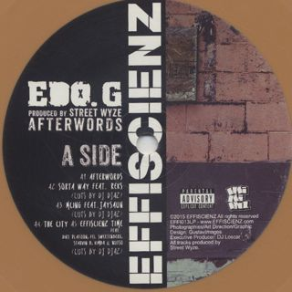 Edo.G / Afterwords label