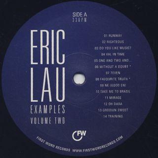 Eric Lau / Examples Vol 2 label