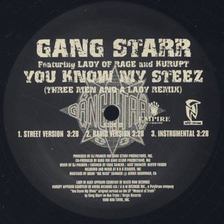 Gang Starr / The Militia back