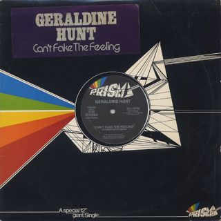 Geraldine Hunt / Can't Fake The Feeling front