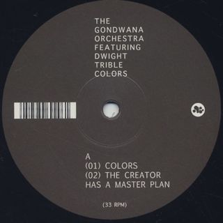 Gondwana Orchestra featuring Dwight Trible / Colors back