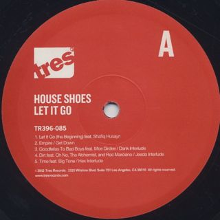 House Shoes / Let It Go label