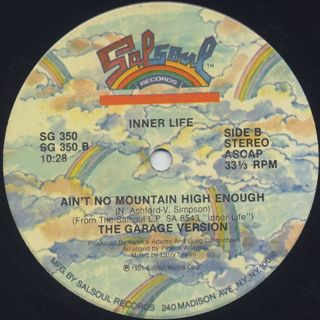 Inner Life / Ain't No Mountain High Enough label