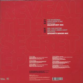 J-Live / Reveal The Secret EP back