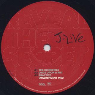 J-Live / Reveal The Secret EP label
