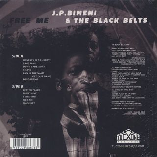 J.P. Bimeni & The Black Belts / Free Me back
