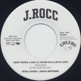 J.Rocc / Party People x Girl I'll House You