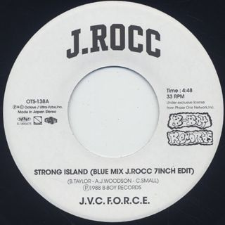 J.Rocc / Strong Island(Blue Mix J.Rocc 7inch Edit)