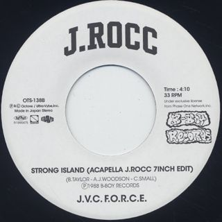 J.Rocc / Strong Island(Blue Mix J.Rocc 7inch Edit) back