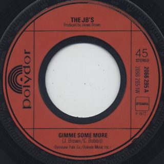 JB's / Gimme Some More c/w J.B. Shout label