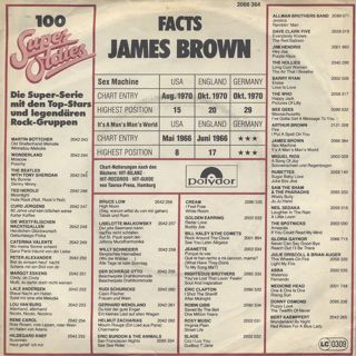 James Brown / Sex Machine c/w It's A Man's Man's World back