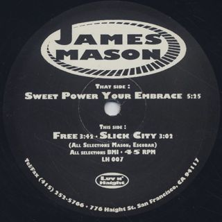 James Mason / Sweet Power Your Embrace back