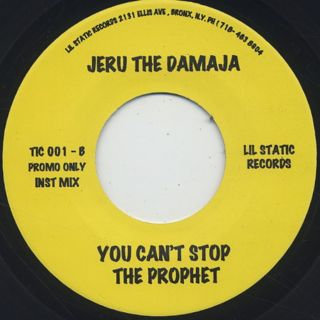Jeru The Damaja / You Can't Stop The Prophet (7