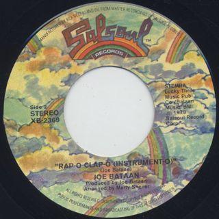 Joe Bataan / Rap-O Clap-O label