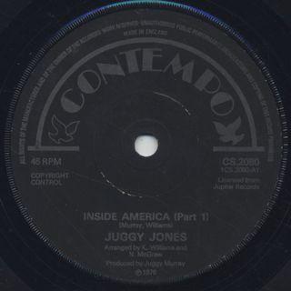 Juggy Jones / Inside America Pt.I c/w Pt.II