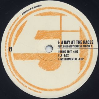 Jurassic 5 / Thin Line / A Day At The Races label