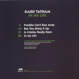 Kaidi Tatham / In My Life back
