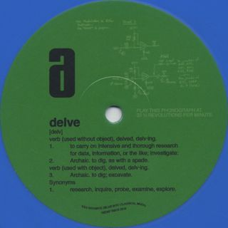 Kev Brown / Kev Brown's Delve Into Classical Moog label
