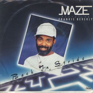 Maze featuring Frankie Beverly / Back In Stride c/w Joy And Pain front