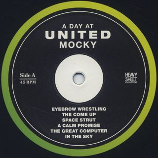 Mocky / A Day At United label