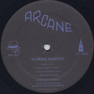 Morris Mobley / Movin' On label