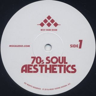 Msxii Sound Design / 70's Soul Aesthetics label