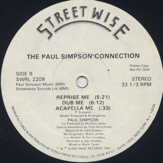Paul Simpson Connection / Use Me, Loose Me back