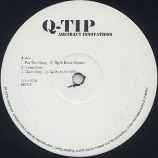 Q-Tip / Abstract Innovations label