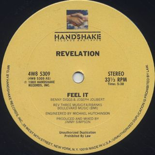 Revelation / Feel It back