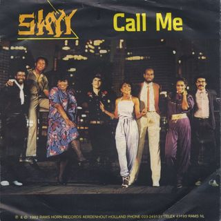 Skyy / Call Me c/w Girl In Blue front