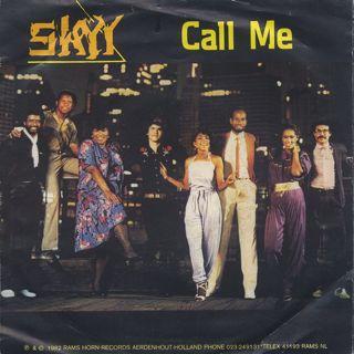 Skyy / Call Me c/w Girl In Blue