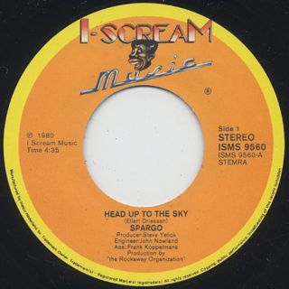 Spargo / Head Up To The Sky back