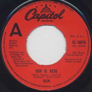 Sun / Sun Is Here c/w Dance (Do What You Wanna Do)