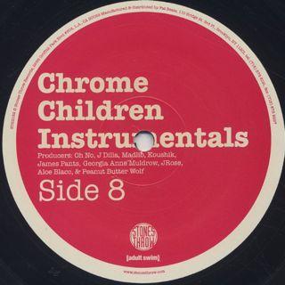 V.A. / Chrome Children Instrumentals back