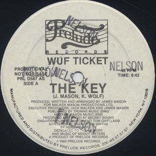 Wuf Ticket / The Key front