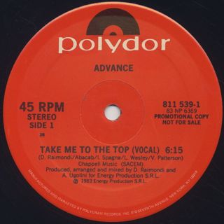 Advance / Take Me To The Top
