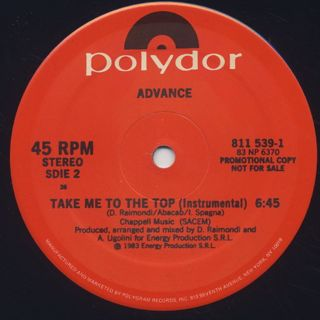 Advance / Take Me To The Top back