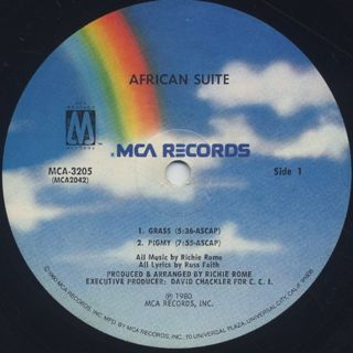 African Suite / S.T. label