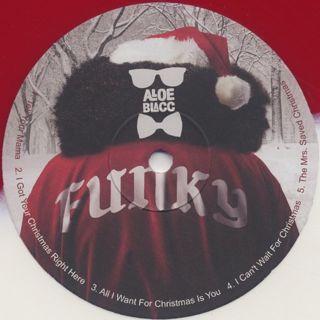 Aloe Blacc / Christmas Funk label