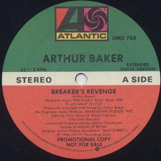 Arthur Baker / Breaker's Revenge back